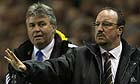Guus Hiddink and Rafael Benitez
