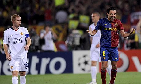 Scholes vs. Barcelona width=