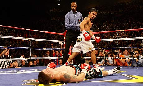 With one ferocious blow by Manny Pacquiao, Ricky Hatton's amazing ...