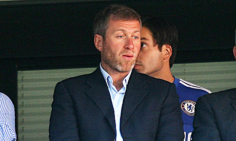 Roman Abramovich Chelsea owner at FA Cup final