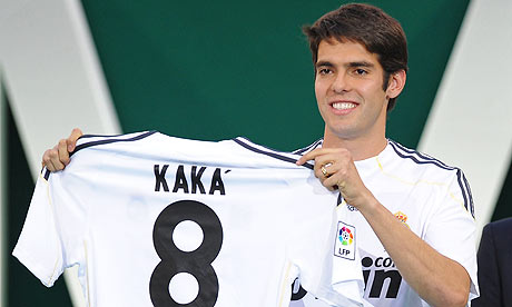 Kaka Real Madrid Signing