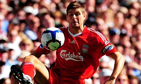 Steven Gerrard and Tottenham Hotspur v Liverpool - Premier League