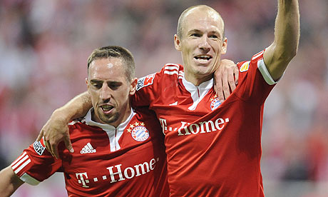 Individual Match Highlights: Arjen Robben debut (Bayern Munich) vs Wolfsburg