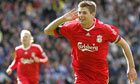 Steven Gerrard. and Bolton Wanderers vs Liverpool