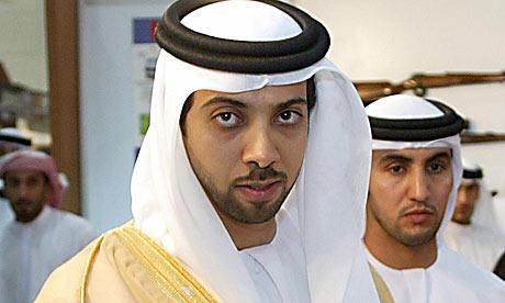 Sheikh Mansour bin Zayed al-Nahyan.