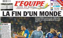 L'Equipe this morning.