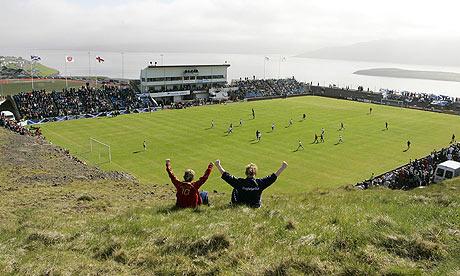 Faroe Island v Scotland, Euro 2008 qualifier, Toftir