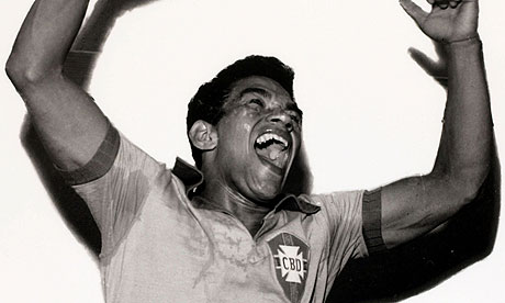 Garrincha in happy mood