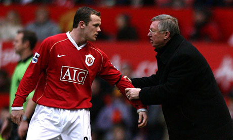Sir Alex Ferguson Rooney