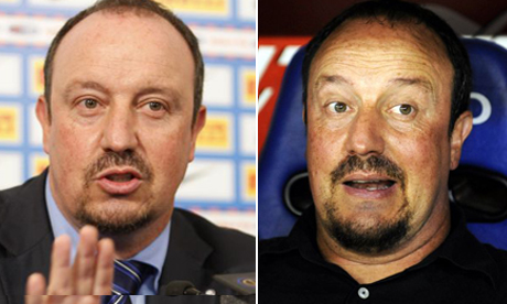 Spot the difference? Rafa now and Rafa then