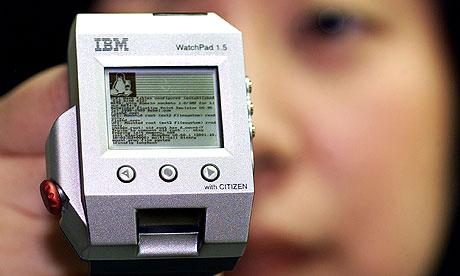 IBM computer watch gizmo