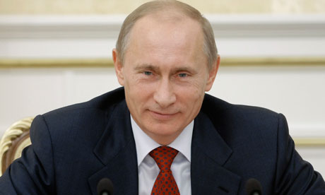 The Russian bid hope Prime Minister Vladimir Putin will help in the race to host the 2018 World Cup.