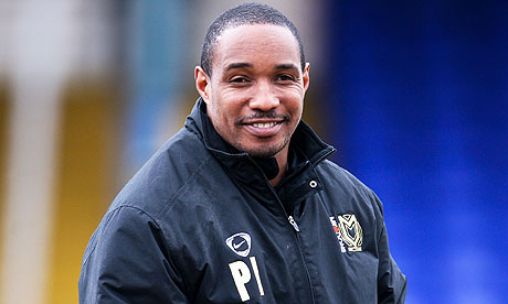 Paul Ince wasn't smiling last night as rain forced abandonment of Notts ...