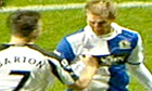 A screen grab of Joey Barton and Morten Gamst Pedersen