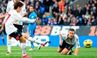 Lee Chung-yong scores Bolton Wanderers' second goal against Newcastle United