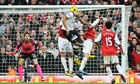 Younes Kaboul scores for Tottenham against Arsenal