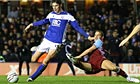 Birmingham's Nicola Zigic pounces late to push past Aston Villa