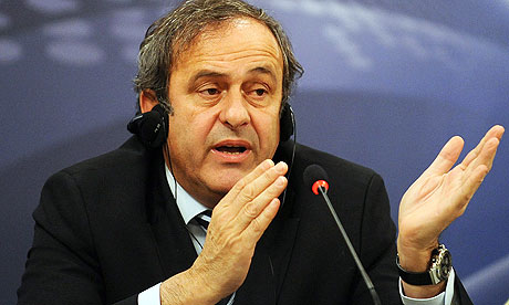 UEFA president Michel Platini will not return £16,000 watch