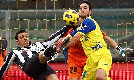 Fabio Quagliarella scores