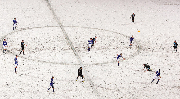 Football white-outs: Ipswich v Leicester