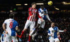 Stoke's Robert Huth makes most of Blackburn's post-Allardyce malaise