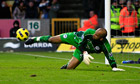 Wigan Athletic send Wolverhampton Wanderers bottom of the heap