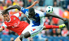 Mark Hughes hopes to lure Christopher Samba from Blackburn to Fulham