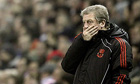 Roy Hodgson in peril as anger of Liverpool fans alarms owners