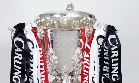Carling Cup trophy