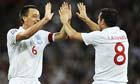 John Terry and Frank Lampard, England 5-1 Croatia