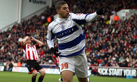 Spurs forward Adel Taarabt scores another goal for QPR (video)
