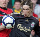 What was Fernando Torres doing before Wayne Rooneys penalty? (Manchester United Liverpool)