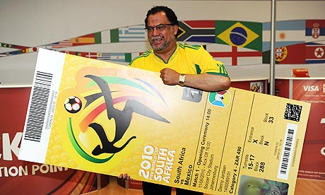 World Cup Ticket. World Cup organisers have