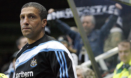 Chris Hughton will have a tough task keep Newcastle United up