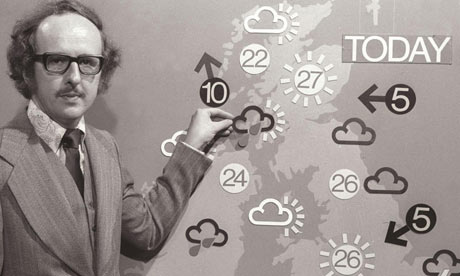 Michael Fish the weatherman