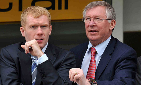 Paul Scholes followed his gut over England call-up, says Alex Ferguson ...