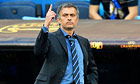 Jose Mourinho, the coach of Internazionale, during the Champions League final