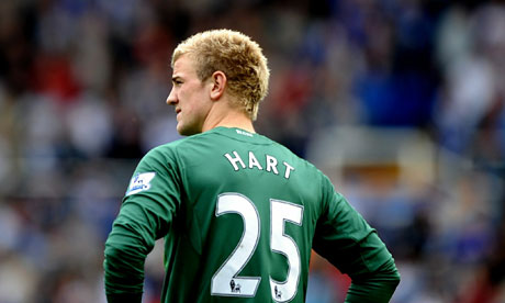 joe hart birmingham and manchester city