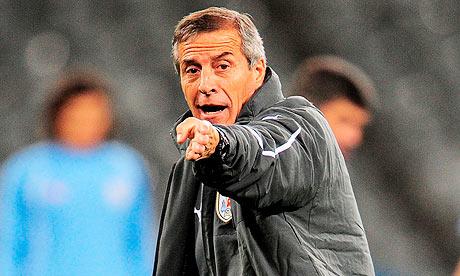 Uruguay's national football team coach Oscar Tabárez