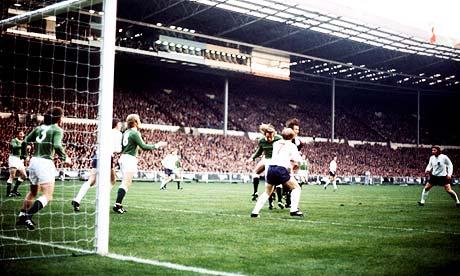 England v West Germany 1972