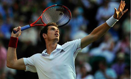 andy murray wimbledon 2010. Andy Murray#39;s first serve has