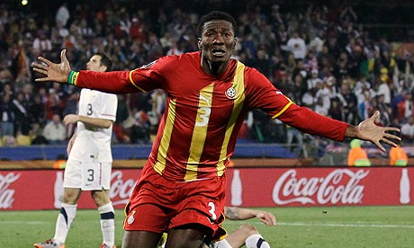 Asamoah Gyan 006 Premier League Transfer Deadline: From Sneijder to Gyan