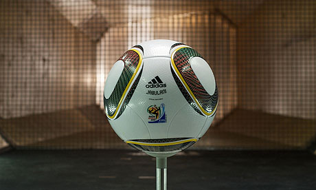 World Cup ball The official World Cup football has faced a storm of