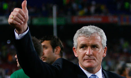 New Fulham manager Mark Hughes