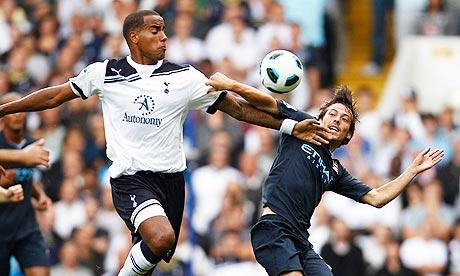 Manchester City battles Tottenham