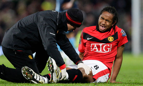 Anderson injured