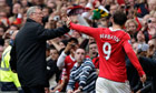 Berbatov and Ferguson