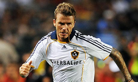 David Beckham may be joining Tottenham on loan in time to play against