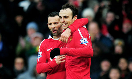 Berbatov and Giggs