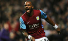 Darren Bent celebrates scoring